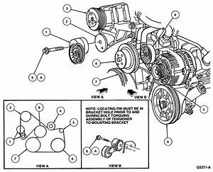 How Do I Replace A Serpentine Belt On A 1995 Mustang  V6