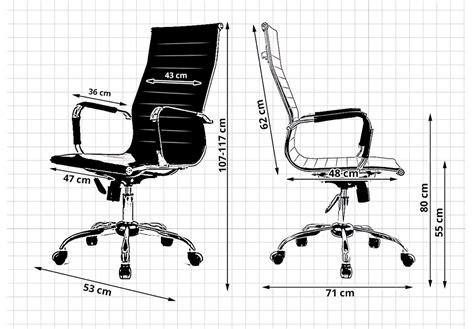 dimensions bureau fauteuil siège de bureau sur roulettes avantgarde réglable