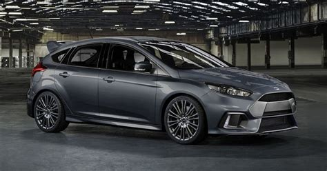 I Think The 2016 Focus Rs Looks Fantastic In Grey! Shame