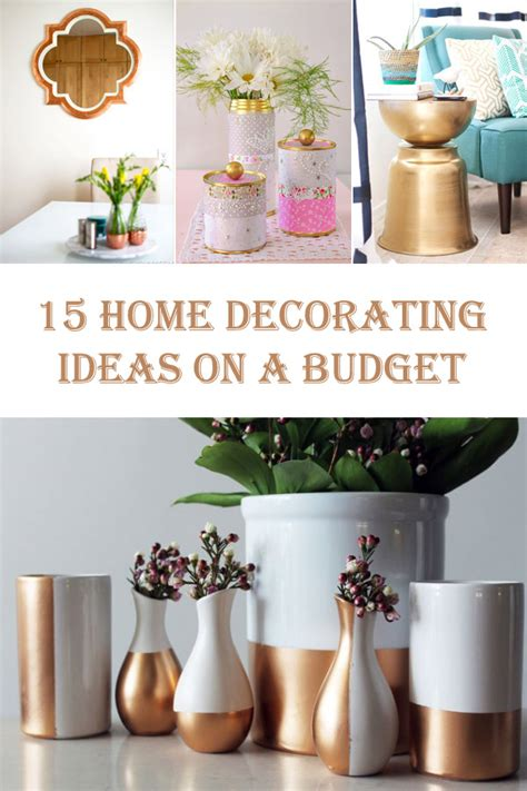 Decorating Ideas On A Budget 15 diy home decorating ideas on a budget diys to do