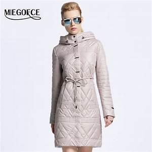 MIEGOFCE 2017 New spring jacket women winter coat women ...