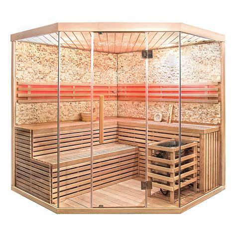 sauna kaufen günstig 1 sauna skyline xl big 187 luxus ecksauna mit glasfront kaufen