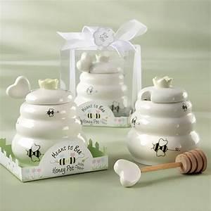 mini honey pot favors With honey pot wedding favors