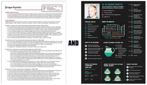 Visually Appealing Resumes by The Ultimate Guide To Infographic Resumes