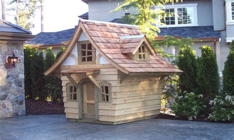 Storybook Cottage Playhouse Plans Playhouse With Loft