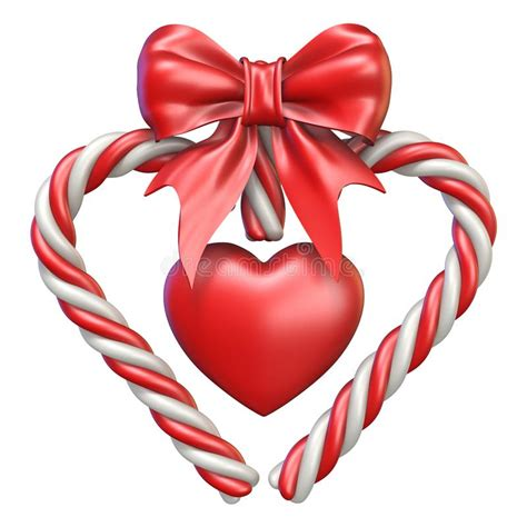 Checkout other candy cane heart vectors with different styles in svg vector library. Candy cane heart symbol stock vector. Illustration of ...