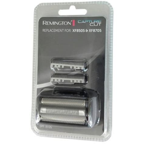 remington spfxf foil cutter set shaver spare parts