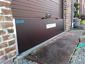 barrieres anti inondations hydroprotect france With barriere anti inondation porte de garage