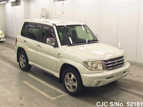 mitsubishi pajero io 2005 mitsubishi pajero io pearl for sale stock no 52181