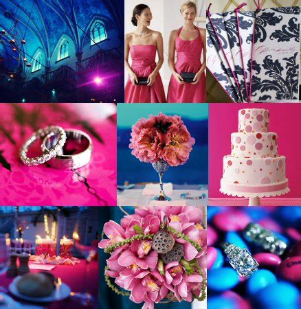 royal blue and pink wedding decorations gonul s blog a wedding cakes picture gallery consisting