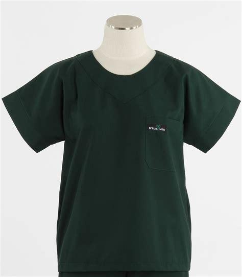 Scrub Med Womens Scrub Top In Forest Green  Scrub Med