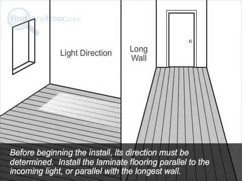 which direction should hardwood floors be laid installing laminate flooring laminate floor installation by findanyfloor com youtube