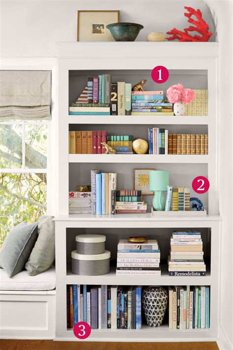 How To Organize A Bookcase by 6 Organizing Hacks That Make Your Bookshelf Look Like A