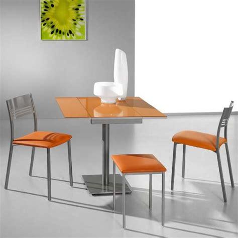 extensible de cuisine table de cuisine moderne extensible en formica smart 4