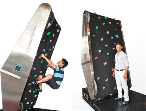 Climbing Wall Treadmill: Exercise Machine Rocks Your House ...
