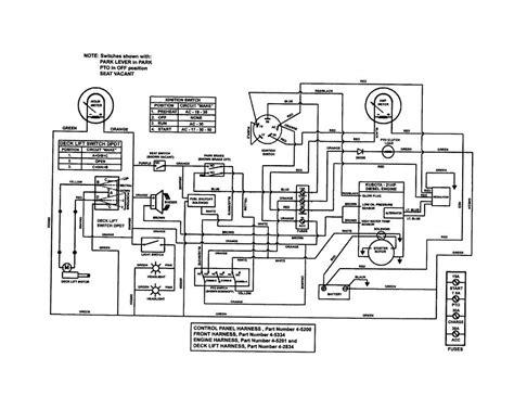 Standby Avr Service Diagram Lawn Phase Sitting Diesel Test