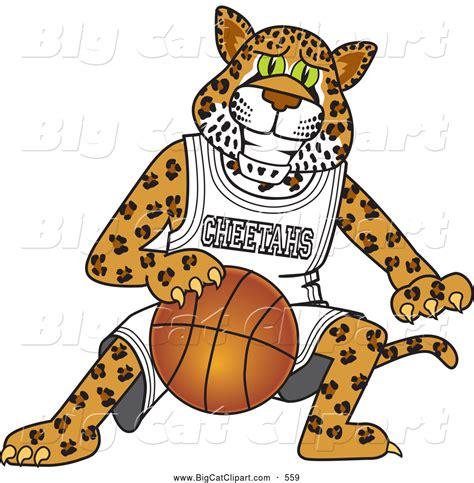 mascot clipart royalty free basketball stock big cat designs