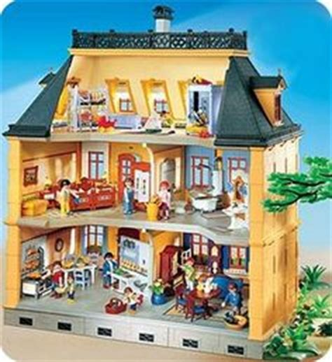 la grande maison playmobil dollhouse doll house school playmobil dollhouse image found at drtoy