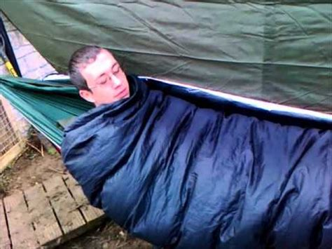 how to stay warm in a hammock a winter hammock setup keeping warm in a hammock