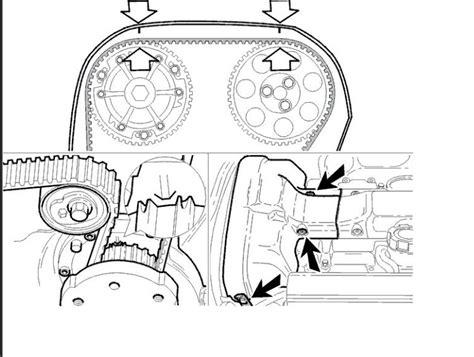 camshaft timing marks  replaced  valves   car