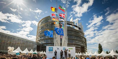 siege du parlement europeen strasbourg europe ou la revendication d une situation
