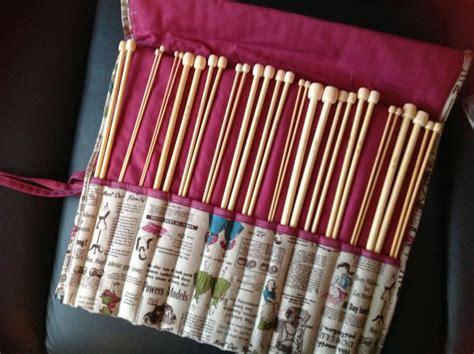 rangement aiguilles a tricoter un rangement pour les aiguilles 224 tricoter de mamy cocotte avec lafeflo on bricole on