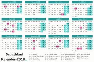 Kalender 18 19 : kalender 2018 mit feiertagen ferien ~ Jslefanu.com Haus und Dekorationen