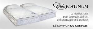 Le Top Du Matelas : matelas orthop dique platinum de ortho sommeil davantage ~ Melissatoandfro.com Idées de Décoration