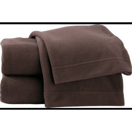 soft lofty fleece sheet set rich brown full bed size sheets bedding walmartcom