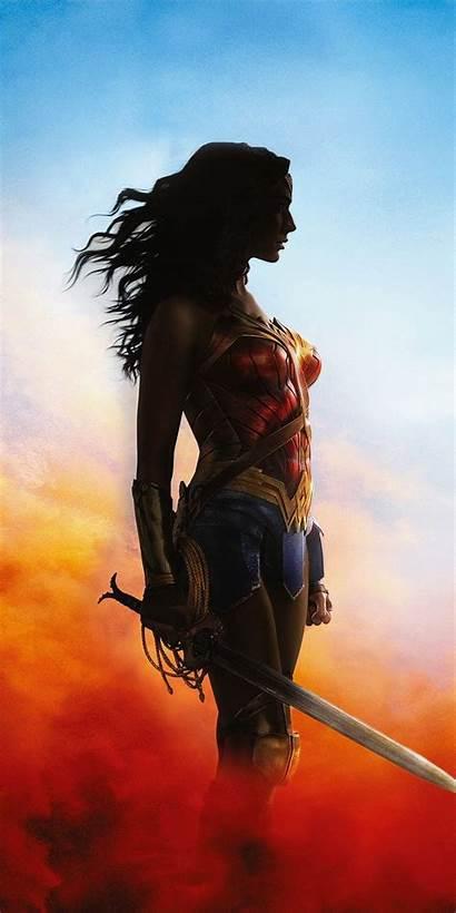 Wonder Woman Dc Movies Princess Awe Paper