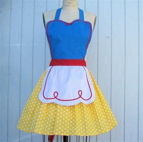 Disney Kitchen Aprons by Fairytale Cookwear Disney Aprons