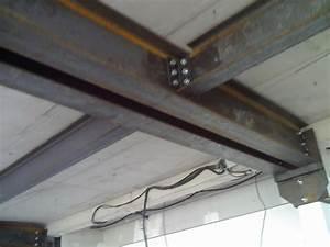 Structure métallique plancher collaborant