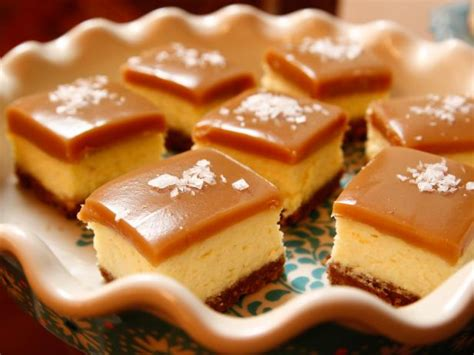 Kitchen Decorating Ideas Pinterest - salted caramel cheesecake squares recipe ree drummond food network