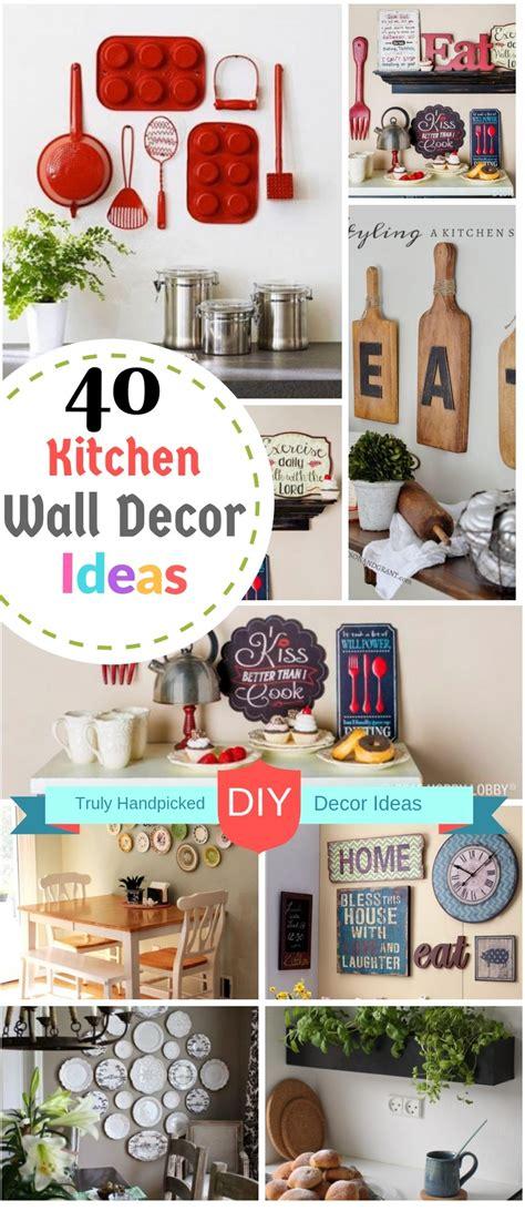 diy kitchen wall decor ideas creative farmhouse