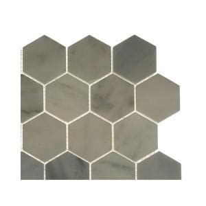 home depot hexagon marble tile splashback tile hexagon marble floor and wall