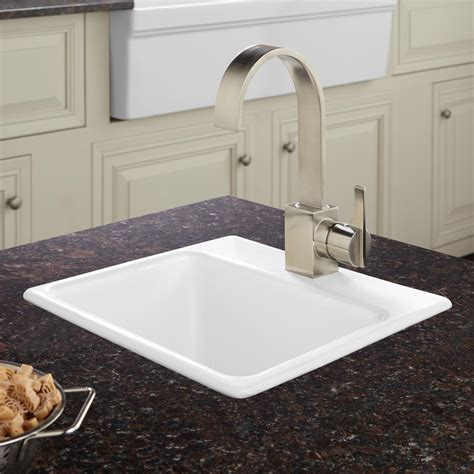 kitchen prep sink 15 quot rienzo cast iron drop in prep sink kitchen 2465