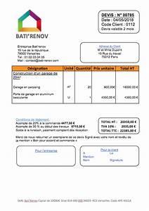 Devis Garage : prix d une construction de garage et exemple de devis ~ Gottalentnigeria.com Avis de Voitures