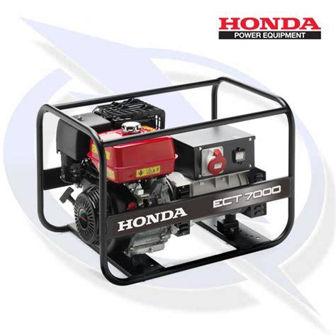 honda ect 7000 honda ect 7000 7kw 7kva 3 phase framed petrol generator energy generator sales