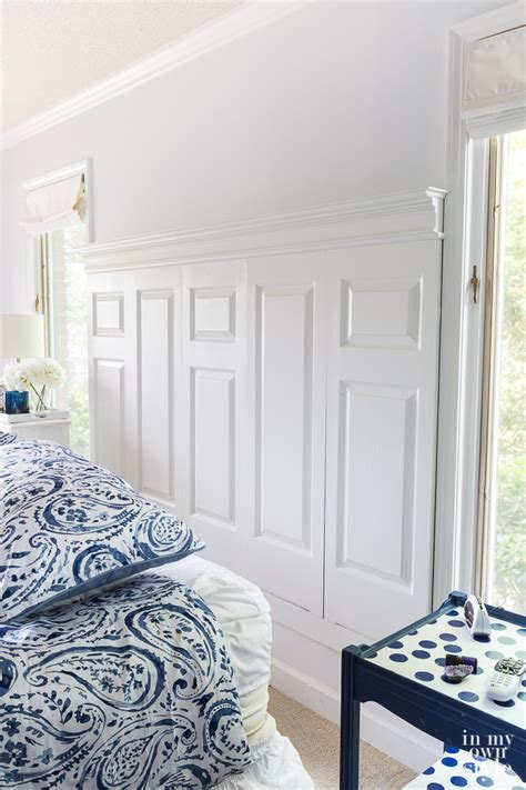 Using Doors As Headboards by How To Make A Headboard Using Doors In My Own Style