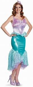 Disney Princess Ariel Deluxe Adult Costume - SpicyLegs.com