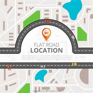 Road location top view Vector | Free Download