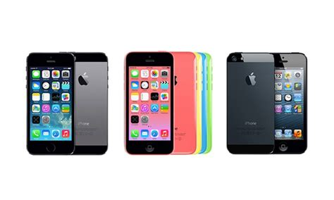 iphone 5s unlocked deals apple iphone 4s 5 5s or 5c groupon goods