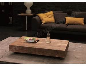 Console Transformable En Table : table basse ozzio box legno table transformable vintage ~ Teatrodelosmanantiales.com Idées de Décoration