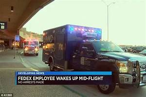 FedEx employee falls asleep at work and wakes up on flight ...