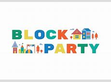 Block party illustration Download Free Vector Art, Stock