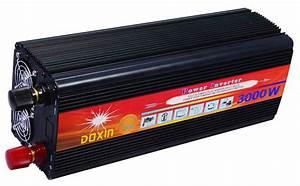 3000w Doxin Power Inverter Good For Solar  U0026 Camping  U2013 Rsa Solar  U0026 Elec