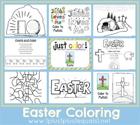 Troy University Lesson Plan Template by Religious Easter Activity Pages Worksheets For All