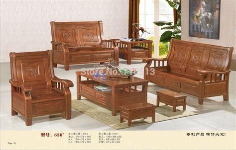 wooden sofa set good quality furniture  living room