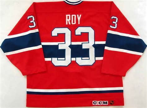 patrick roy montreal canadiens game worn jersey