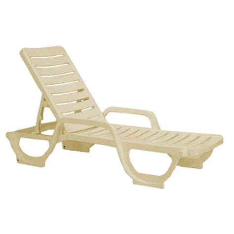 chaise pvc chaise lounge plastic resin bahia